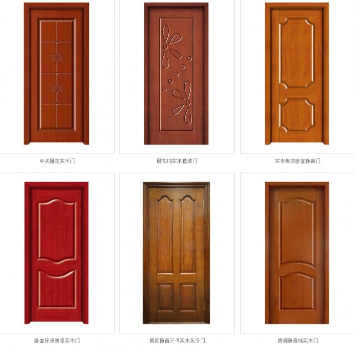 实木复合门有哪些种类?