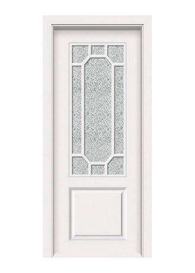 厨卫环保漆实木玻璃套装门