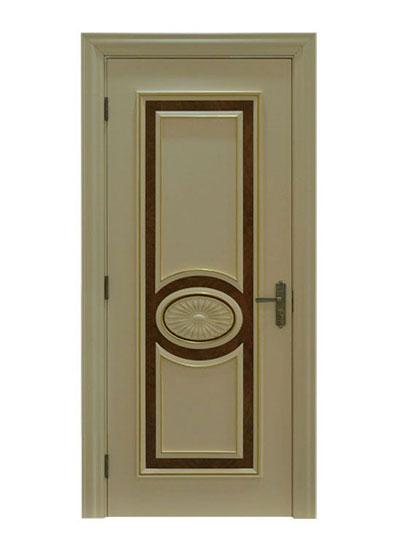 卧室烤漆实木套装门