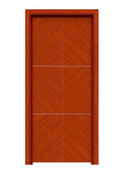 原木实木套装门