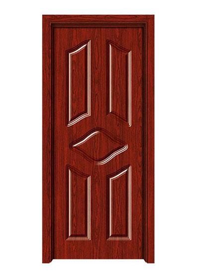 卧室防潮隔音实木门