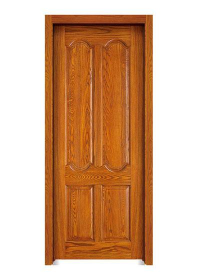 胡桃原木套装门