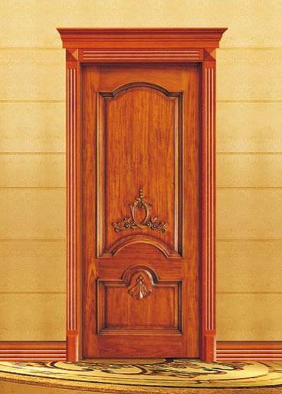 欧式室内实木门套装原木门