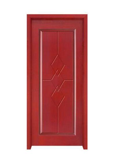 室内简约实木套装门