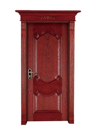 美式烤漆套装实木门