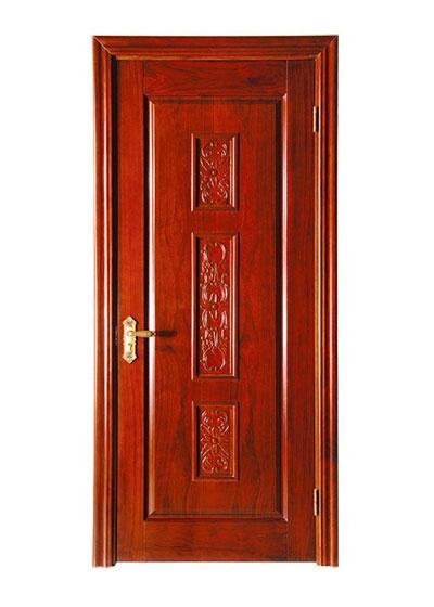 室内烤漆实木门