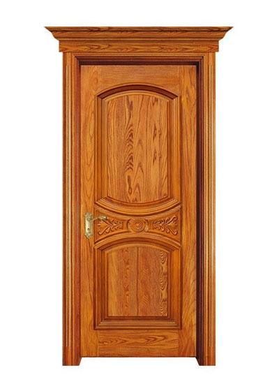 开放漆纯实木室内房间门