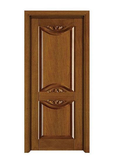 室内卧室隔音实木套装门
