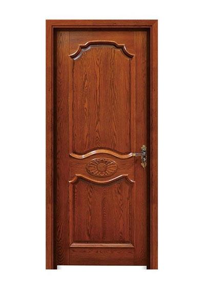卧室书房烤漆隔间实木门