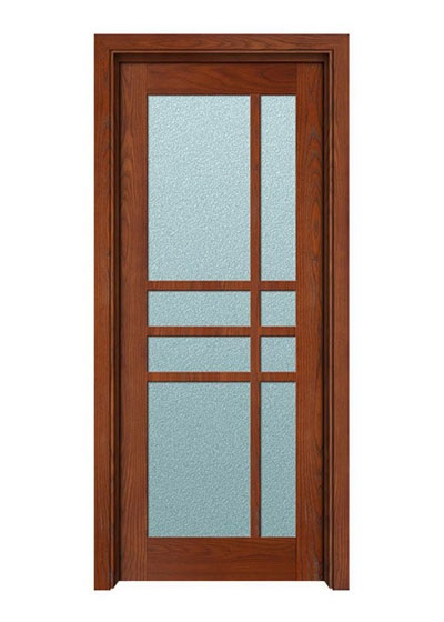室内复合实木玻璃套装门