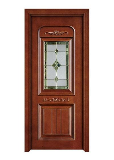 厨卫烤漆实木玻璃门