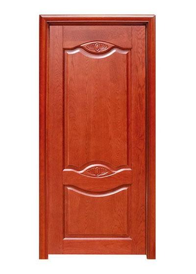 卧室简约实木房间门