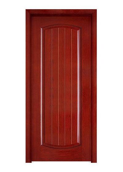 简约烤漆房间实木门