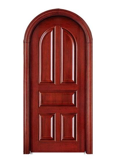 圆拱实木套装门