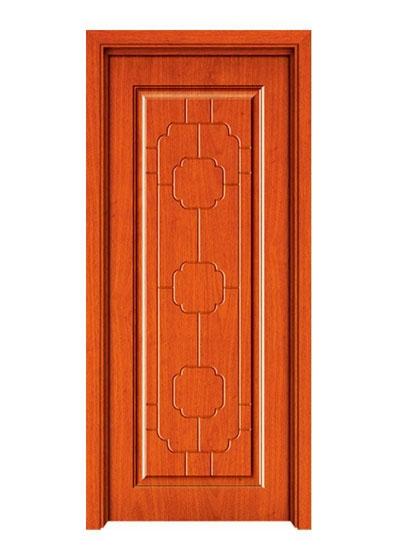 中式烤漆实木套装门