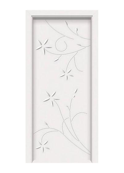 雕花烤漆房间实木门