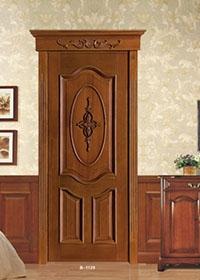 B-1126  对开实木套装门