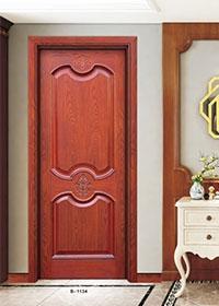 B-1134 拼花烤漆套装门  